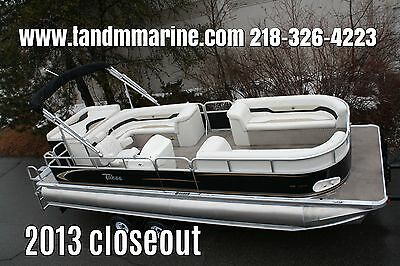 New 24 ft pontoon boat with 150 four stroke and trailer Blue only