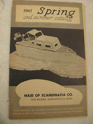 1961 Maid Of Scandinavia Co Spring And Summer Catalog 64 Pages
