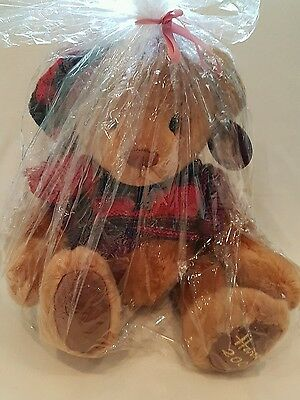 New*Harrods Teddy Bear 2004 collectors NWT gift wrapped