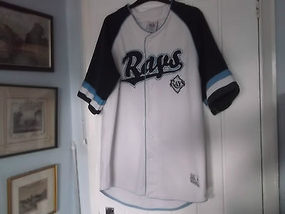Tampa Bay Rays Baseball Jersey Large Size True Fan Make