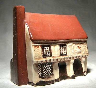 Mudlen End Miniature Pottery Houses  The Swan