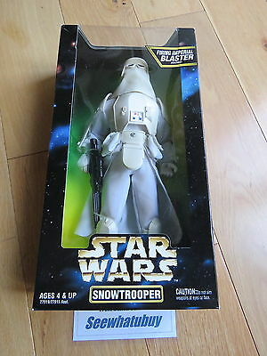 STAR WARS  12 inch Snowtrooper action figure - NEW & BOXED - RARE