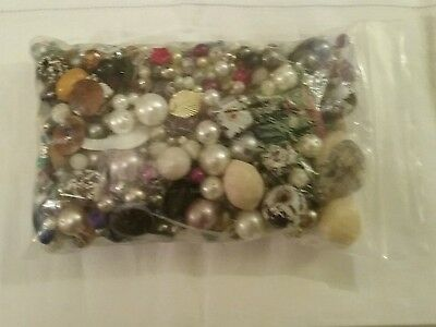 Bag Of Mixed Beads For Jewellery Making. Approx 460 Gms.