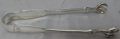 Tiffany and Company Stering Sliver Sugar Tongs | Claw Design | 24.1g