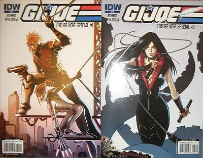 GIJOE Future Noir Comic #1 & #2 complete set
