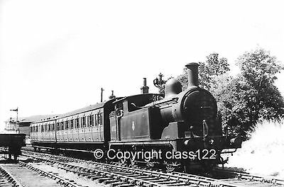 B&W photo LNER G-5 0-4-4T No.67322 at Audley End