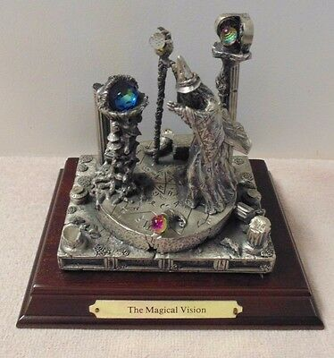 Tudor Mint Myth and Magic The Magical Vision #3310 A G Slocombe ~ Pewter