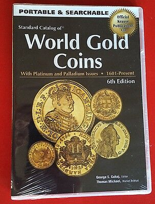 STANDARD CATALOG of WORLD GOLD COINS CD 1601-PRESENT 6TH EDITION SHRINKWRAPPED
