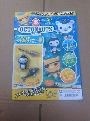 CBEEBIES - OCTONAUTS MAGAZINE - ISSUE 17 crew and creature set peso