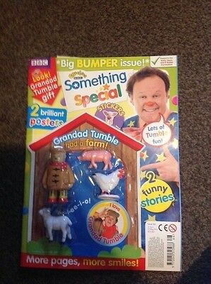 CBeebies Something Special Magazine Issue 66 grandad tumble had a farm gift set