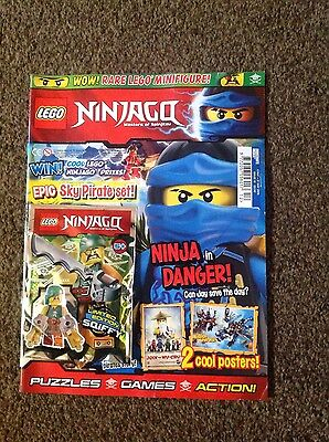 Lego ninjago  magazine Issue 12 free limited squiffy figure