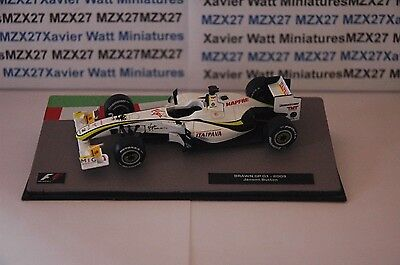 Voiture Formule 1 Brawn Gp 01 2009 Jenson Button 1/43 Eme