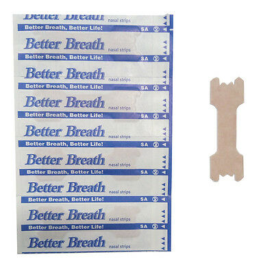 30 Patch Better Breath Nasal Strips Med Anti Snoring Sleep Right Aid Stop Snore