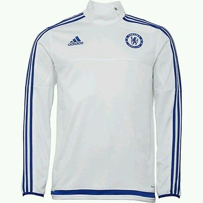 Chelsea FC Quarter Zip Training Top made by Adidas - Size Medium - BNWT
