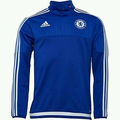Chelsea FC Quarter Zip Training Top made by Adidas - Size XL - BNWT