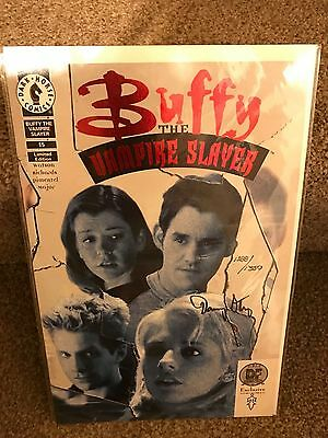 Buffy the Vampire Slayer exclusive red foil comic 15 signed by Danny strong