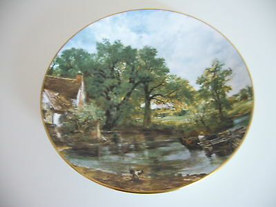 Crown Staffordshire Plate - The Haywain By John Constable