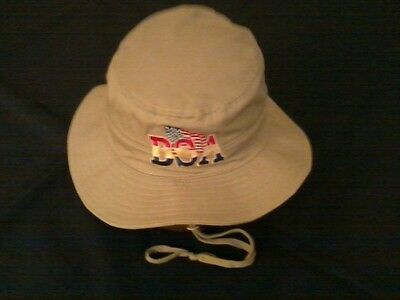 Boy Scouts of America Khaki Boonie Hat, Embroidered , Langenberg Hat, NEW, USA
