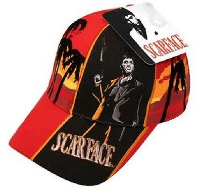 JH Design Tony Montana Hollywood Scarface Movie Hat Cap Palm free shipping