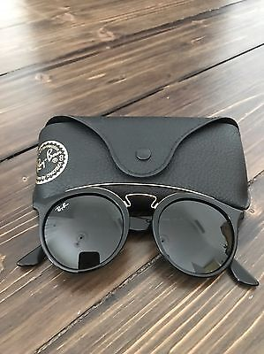 Ray Ban Sunglasses 4256 Highstreet Black & Gold Authentic