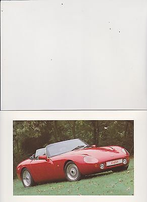 TVR Griffith 4.0  brochure - 1990 - mint