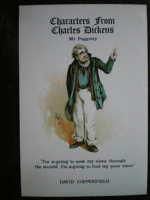 Postcard Charles Dickens Characters - Mr Peggotty - David Copperfield