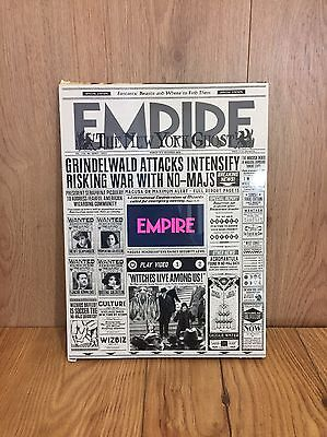 Empire Magazine LCD Video Fantastic Beasts Limited Edition Dec 2016 Issue 330