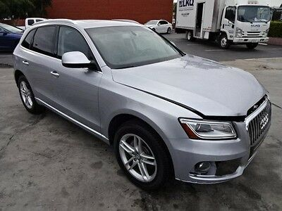 2016 Audi Q5 2.0T Premium Plus 2016 Audi Q5 2.0T Premium Plus Damaged Salvage Only 10K Miles Loaded Must See!