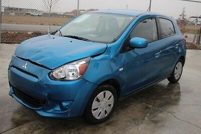 2015 Mitsubishi Mirage DS 2015 Mitsubishi Mirage DS Salvage Wrecked Repairable! Priced To Sell! Wont Last!