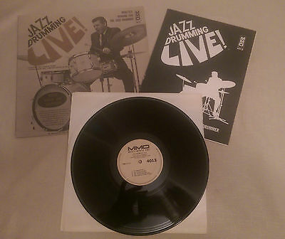 Jazz Drumming Live LP Music minus once MMO 4013