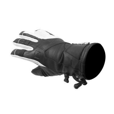 Women CKX Technoflex 2.0 Women Gloves  Part# L585_BK/WH_XS XS