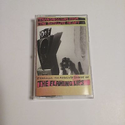 The Flaming Lips Transmissions From the Satellite Heart cassette 1993 nice!