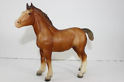 Vtg. Breyer Chestnut Bay Clydesdale Foal #84 BREYER HORSE #84
