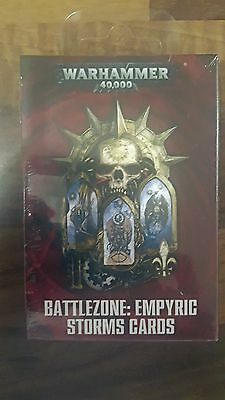 Battlezone Empyric Storms Cards The Fall of Cadia Warhammer 40k Gathering Storm