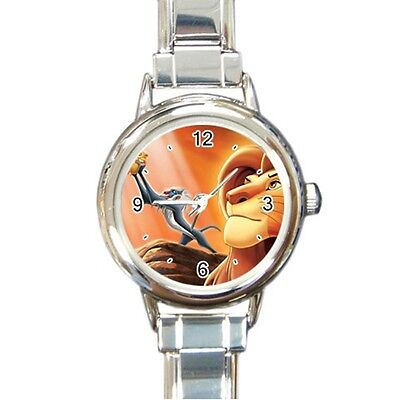 lion king v2 Stainless Steel Italian Charm Watch Gift Idea