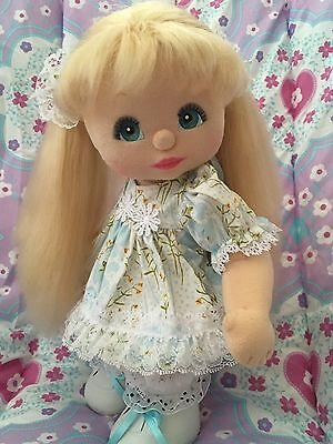 DOLL, SHOES AND SOCKS NOT INCLUDED! Dress, knickers, barrettes only ~ REDUCED!