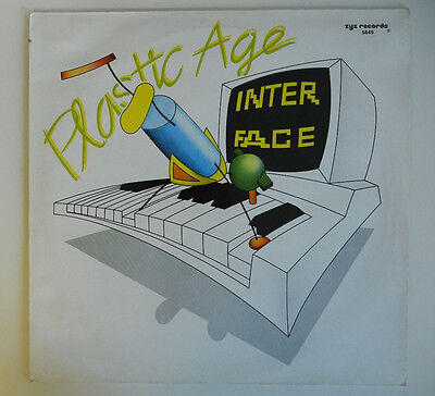 "12"" De**interface - Plastic Age (Zyx Records '87)***13199"