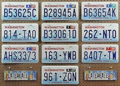 10 WASHINGTON Rainier License Plates Tags Man Cave Decor Signs Hobbies LOT 625