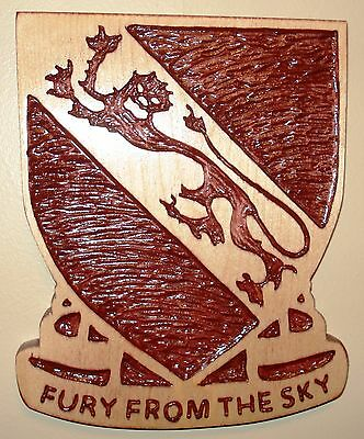 508th PIR DUI, Wood carving, RCT/ARCT/4th BCT, 82nd Airborne, Fury From The Sky