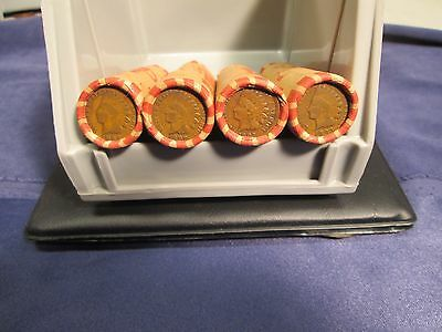 Unsearched Wheat penny Rolls with a Indian head cent on the end 1909svdb found