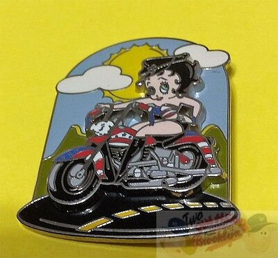 Betty Boop Motorcycle Babe Slider Pin  Last Few!
