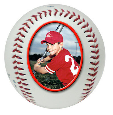 Baseball Player Trophy - Coached Gift / Personalised Photo Ball