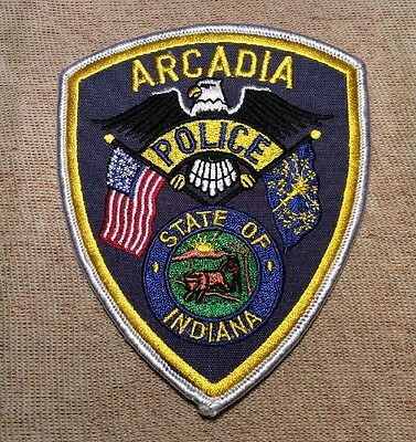 IN Arcadia Indiana Police Patch
