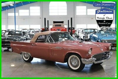 1957 Ford Thunderbird D-Code 1957 Ford Thunderbird D-Code 312ci V8 Fordomatic Automatic AACA Grand Champion