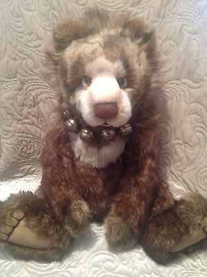 Charlie Bears Graeme 2010 Excellent Condition Grizzly Bear