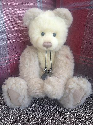 Charlie Bears Megan 2007 Bear Excellent Condition Very Hard To Find