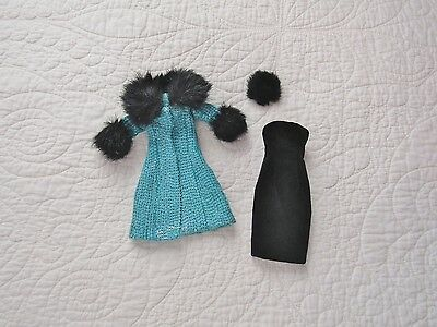 """Tonner 10"""" Tiny Kitty Collier BOULEVARD CHIC Outfit Coat Hat & Dress"""
