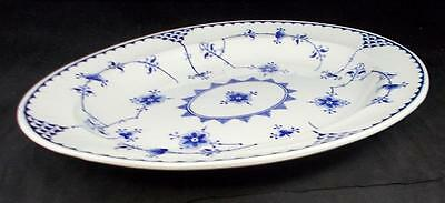 "Furnivals DENMARK BLUE Platter 13 1/2"" length no signs of use GREAT CONDITION"