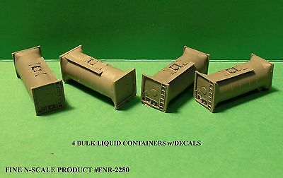 "N Scale: 4 ""BULKTAINERS"" by FNS - FNR-2280"