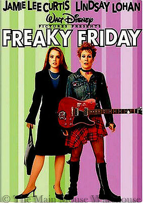 Disney Remake Freaky Friday the 13th Movie on DVD Parent Child Family Comedy